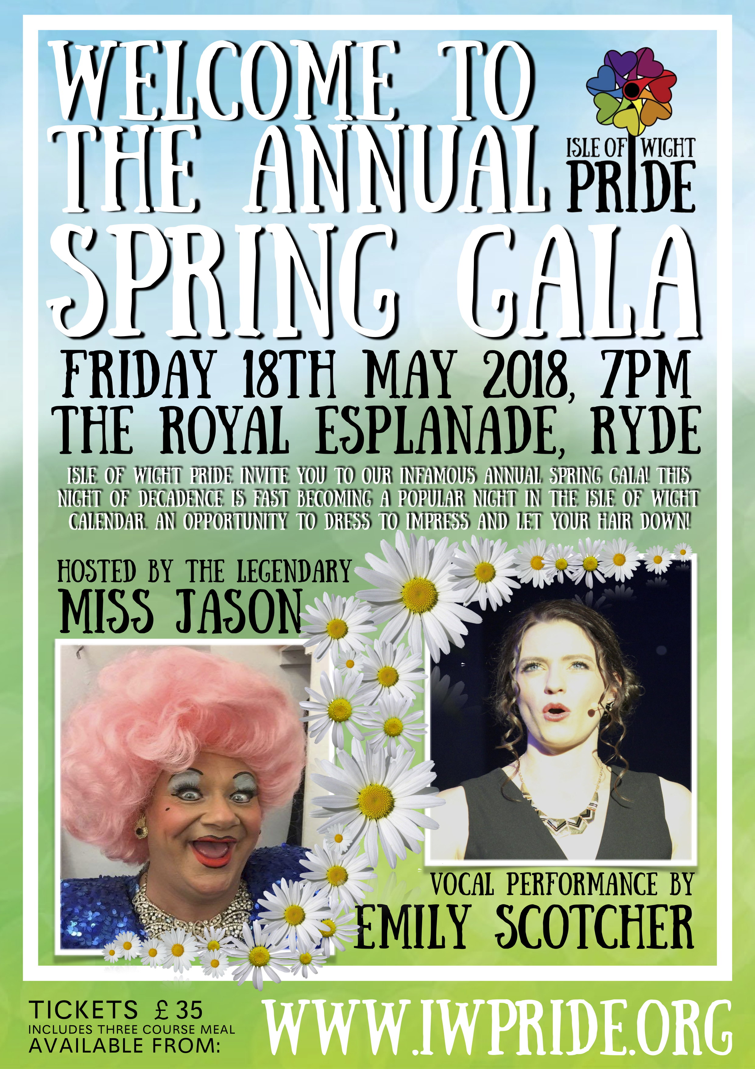 Isle of Wight Pride Spring Gala – Tickets now available!