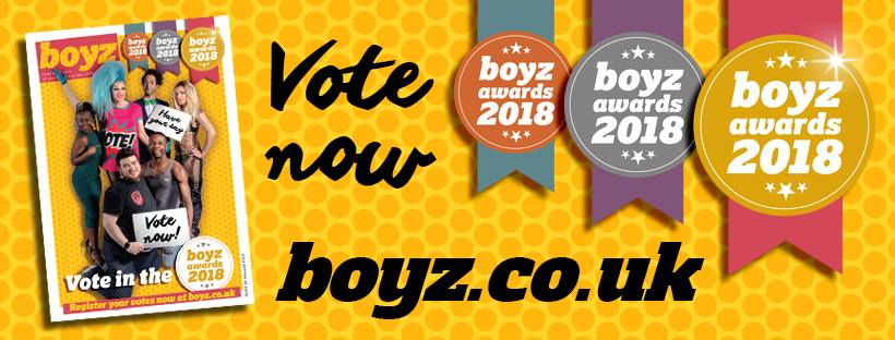 Isle of Wight Pride Nominated in Boyz Awards. Please Vote!!!